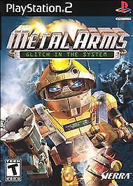 Metal Arms Glitch In The System Sony PlayStation 2, 2003  - $4.50
