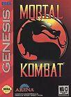 Mortal Kombat Sega Genesis Video Games