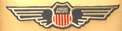 Union Pacific SHIELD with Wings RR Embroidered Patch Train Railroad Railway