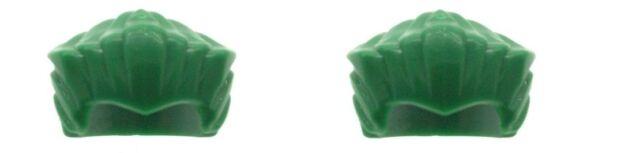 LEGO Batman 2 x Green Joker Minifig Hairpieces Hair NEW