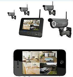 2 Ch wireless system surveillance
