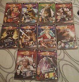 ten doctor who dvds