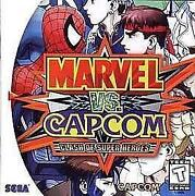 Marvel vs Capcom Dreamcast
