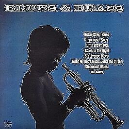 1970 NUDE BLUES & BRASS LP Vinyl record