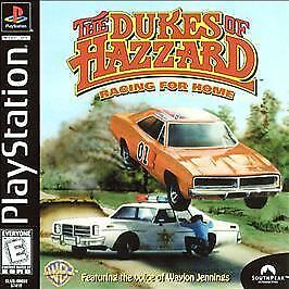 Dukes-of-Hazzard-Racing-for-Home-Complete-in-case-w-man-BLACK-LABEL-PlayStation