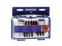 Dremel Universal Accessory Set (688) Multi - Purpose for Grinding, Polishing, Cutting, Sanding, etc.