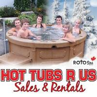 ROTOSPA HOT TUBS sales and rentals. Hot Tubs R us