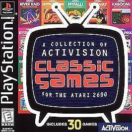 Activision Classics Sony PlayStation 1, 1998  - $2.80
