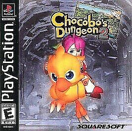 ISO WTB Chocobos dungeon 2 ps1