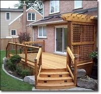 #1 fence & deck staining & sealing! 15% off book today