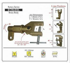 Rotary Ground Clamp 400amp & 600amp (Earth Clamp)