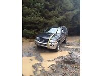 Mitsubishi shogun sport 2001 4D56 engine (fly by wire) breaking for spares