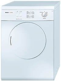 Ex-Lease White Bosch Classixx Maxx Freedom 5kg Vented Tumble Dryer with Warranty