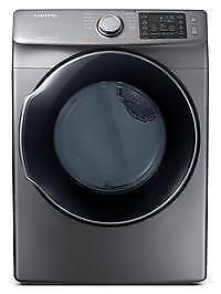 BRAND NEW DRYER SAMSUNG MOD. DVE45M5500P/AC INOX GRAY WITH 1 YEAR WARRANTY!
