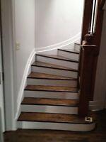 Plancher, escalier**514-968-4080**réparation, pose, sablage**