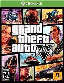 Grand Theft Auto V Microsoft Xbox One, 2014  - $11.00