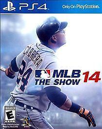 MLB 14 The Show Sony PlayStation 4, 2014  - $9.99
