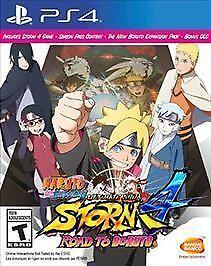 Naruto Shippuden: Ultimate Ninja Storm 4 -- Road to Boruto (Sony  PlayStation 4, 2017)