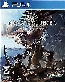 Monster Hunter World Sony PlayStation 4, 2018  - $15.00