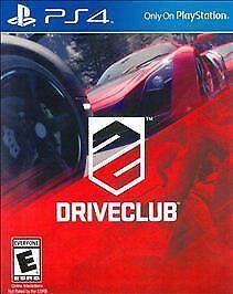 Driveclub *Brand New* Drive Club PS4