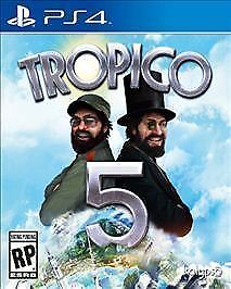 PS4-Tropico-5-Limited-Special-Edtn-City-Builder-NEW-SEALED-Region-Free-USA