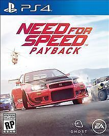 Need for Speed Payback (PlayStation 4, 2017) Ships 11/10) Ships Now!