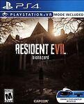 Resident Evil 7 Biohazard (Sony PlayStation 4, 2017)