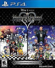Kingdom Hearts Hd 1.5 + 2.5 Remix - Playstation 4