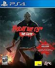 Sony PlayStation 4 Friday the 13th Video Games