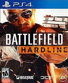 Battlefield Hardline (Sony PlayStation 4, 2015) Video Game New Sealed