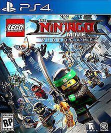 LEGO Ninjago Movie Video Game Sony PlayStation 4, 2017  - $6.00
