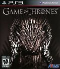 of Thrones Sony PlayStation 3 Video Games