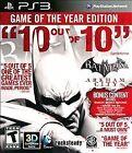 Batman: Arkham City Video Games with Manual