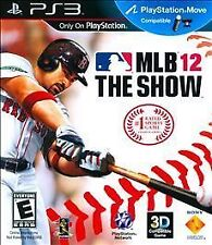 NEW MLB 12: The Show (Sony PlayStation 3, 2012)