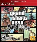 Grand Theft Auto: San Andreas Action/Adventure Video Games