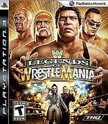 WWE Legends of Wrestlemania PS3
