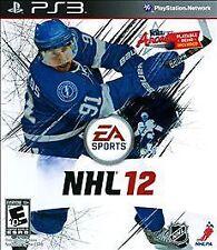 NHL 12 (Sony PlayStation 3, 2011) - BRAND NEW