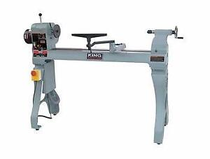 16'' x 43'' Wood lathe with electronic variable speed – King KWL-1643ABC