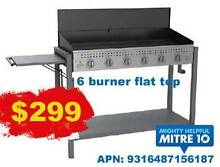 BBQ 6 BURNER FLAT TOP - GREAT FOR LARGE FAMILY/GUESTS Molendinar Gold Coast City Preview