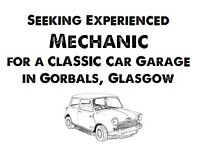 Car mechanic wanted, usual auto mechanic repairs & preferably able to do body repairs & spray paint