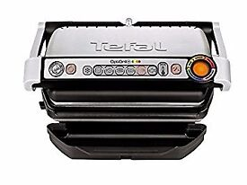 Almost new Tefal GC713D40 Stainless Steel OptiGrill Plus for sale