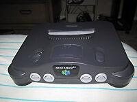 N64 + Zelda Ocarina of time + 2 controllers