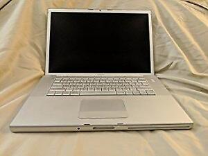 Macbook Pro for Beginners with Dual Boot 2.5Ghz Intel Core Duo 4GB/120GB