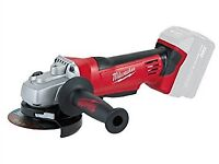 Milwaukee cordless Battery Powered grinders