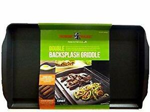 "Nordic Ware Griddle with Backsplash Double Burner Size 20"" x 12"""