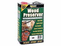 Everbuild Wood Preserver - Clear (4L)