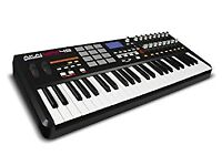 akai mpk49 with 2 keys broken, useful for Controller midi and all stuff