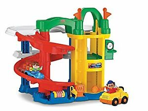 Fischer Price Little People Racing Ramps Garage