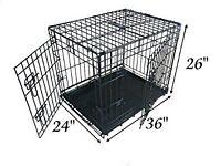 Large Ellie-Bo Dog Two Door Crate