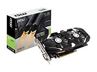 GTX 1060 6GB Graphics card for PC gaming Boxed, as new